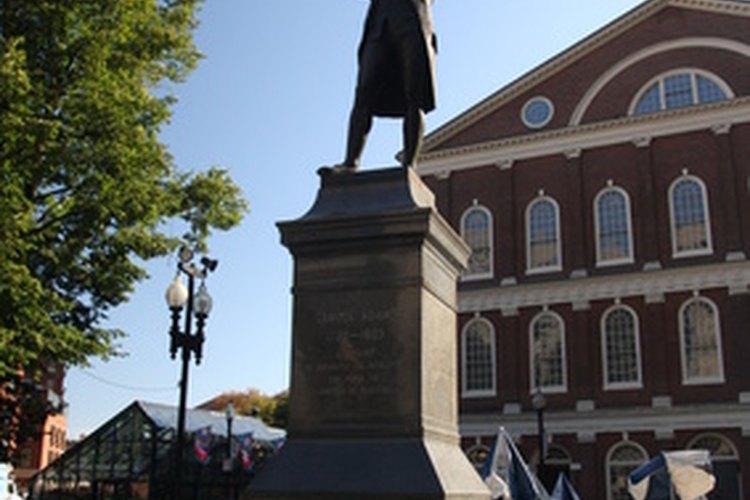 El Quincy Maket en Boston.