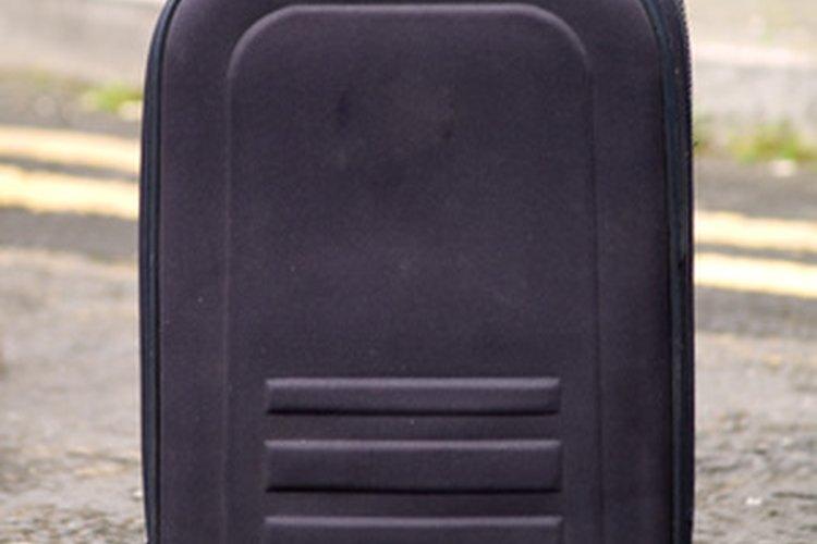 Las mochilas con ruedas son buenas para libros escolares pesados.