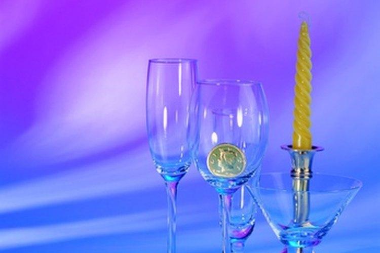 Las copas de cristal de Baccarat tienen una calidad que mantiene su valor.