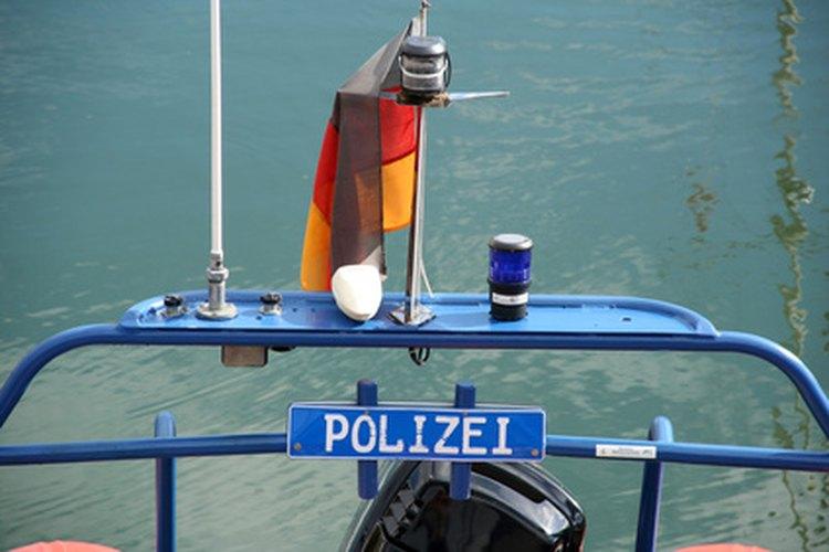 Para ser miembro de la Bundesgrenzschutz hay que tener muy buen estado físico.