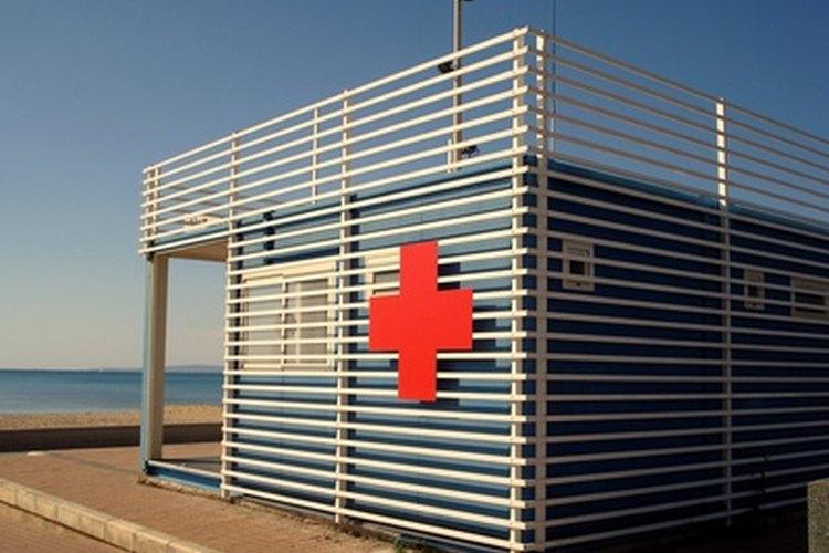Cruz roja.
