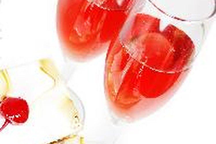 Vino sabor frutal de cereza.