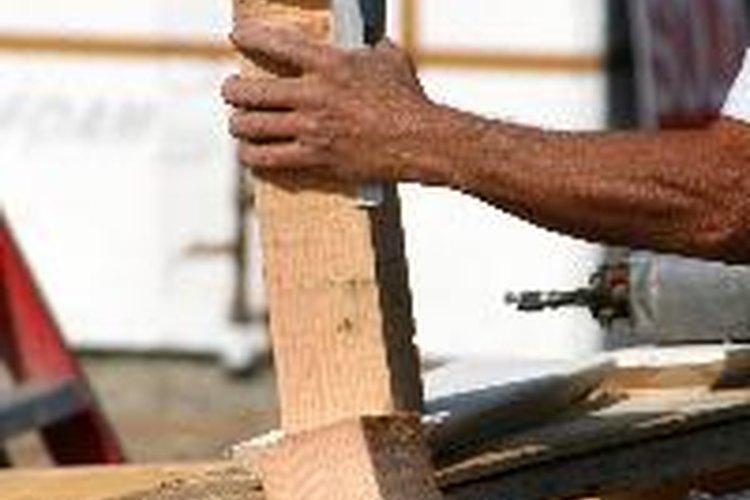Aprende a utilizar las medidas en una escuadra de carpintero.