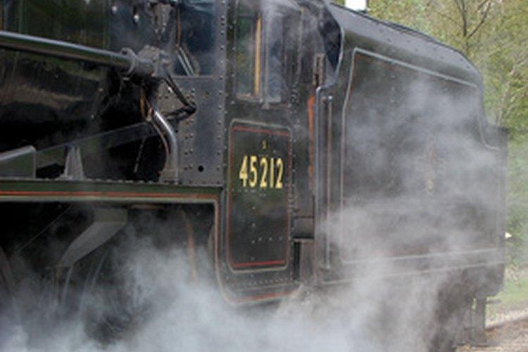 Una caldera puede calentar una casa o empujar un tren.