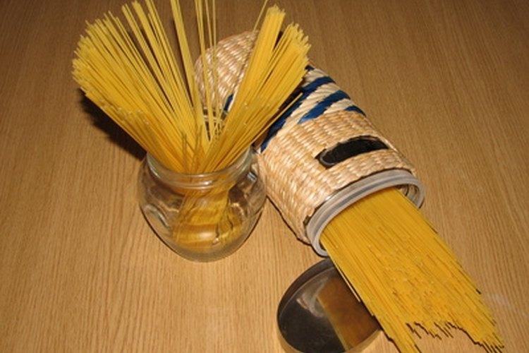 Puedes medir tu pasta y practicar control de porciones.