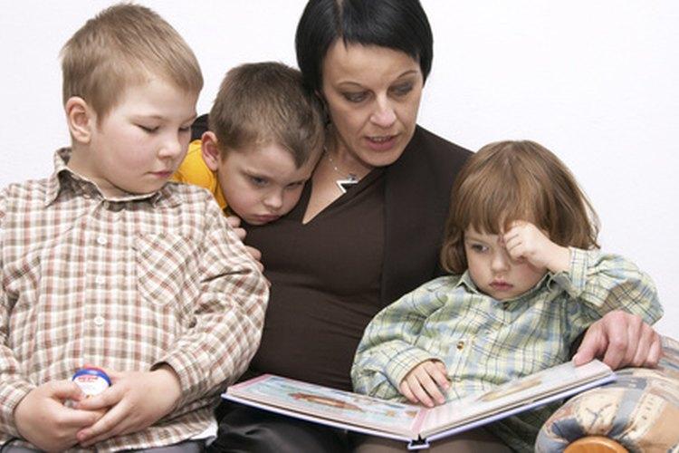 Las historias de motivación inspiran a los niños.
