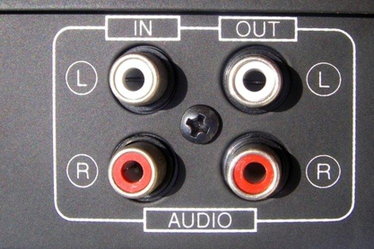 Una típica salida de audio de televisión.
