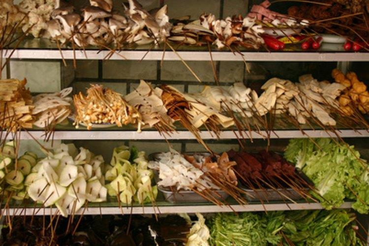 Algunas frutas y vegetales exóticos no son transportados alrededor del mundo.