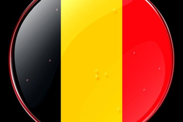 Bandera de Bélgica.