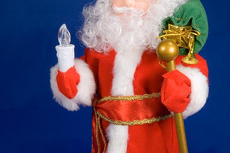 Crea un armazón para tu muñeco Papá Noel.