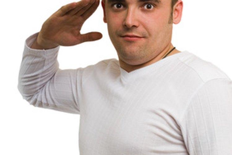 Un saludo muestra respeto.