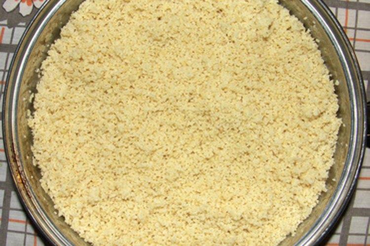La harina de trigo duro y sémola provienen de la misma variedad de trigo.