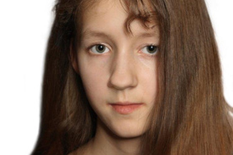 Las mujeres miembros de la iglesia Pentecostal tienen el cabello largo y no usan maquillajes.
