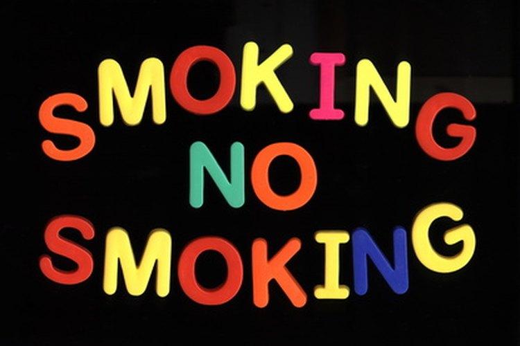 Fumar sólo te causará daños.