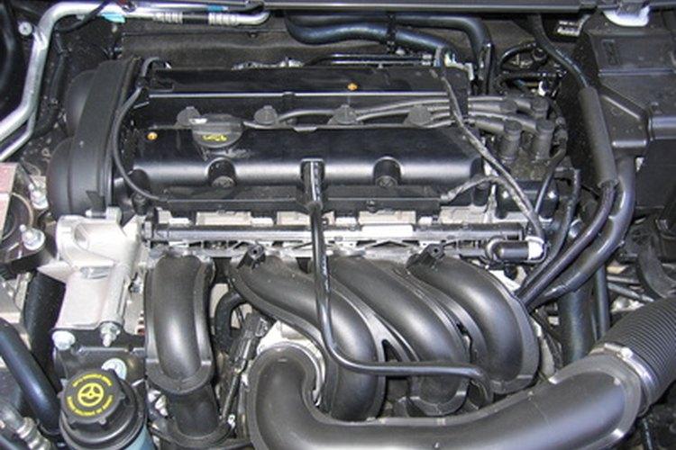La parte principal del auto es el motor.