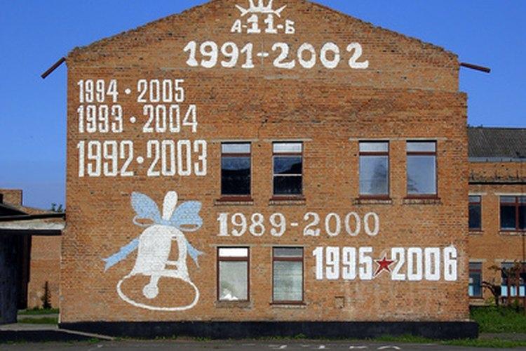 Esta escuela obtuvo una buena mano de pintura que la embellece.