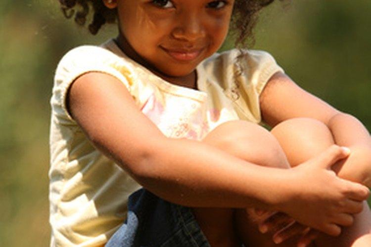 Algunos niños tienen problemas con el cabello grueso y seco.