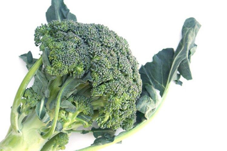 Brócoli horneado.