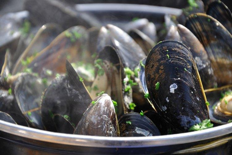 Como con todos los mariscos, debes tener cuidado cuando prepares mejillones.