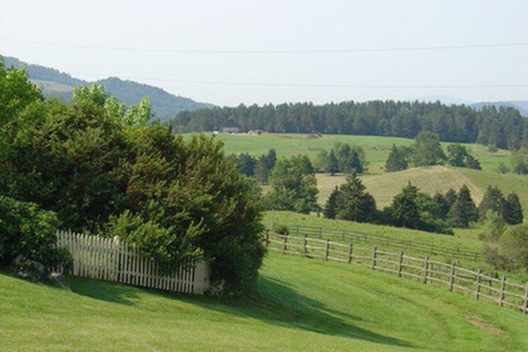 Las verdes llanuras de Vermont.