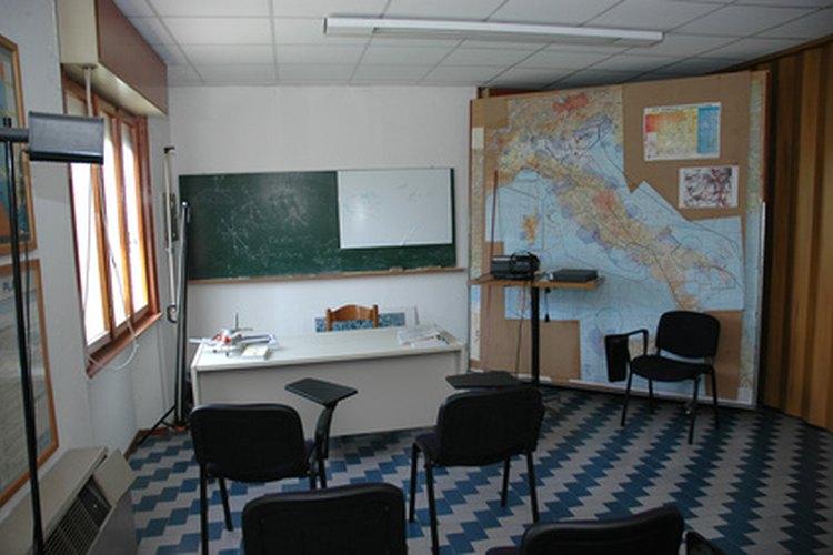 Un aula limpia promueve actitudes sanas.