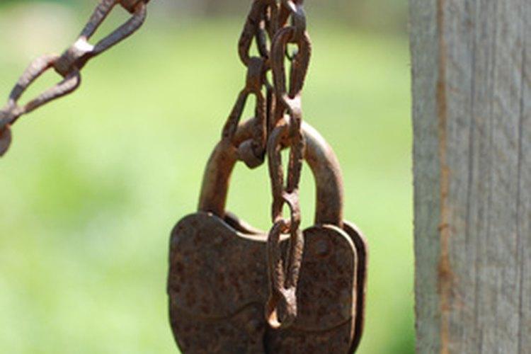 No tienes que arruinar un buen candado solamente porque has perdido la llave.