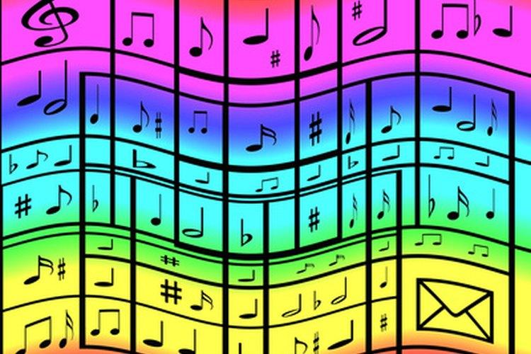 La nota negra es una figura musical que equivale a ¼ del valor de la figura redonda.