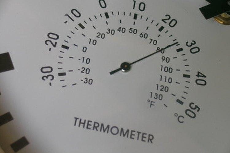 Los termómetros de carne tienen guías de las temperaturas seguras de cocción.