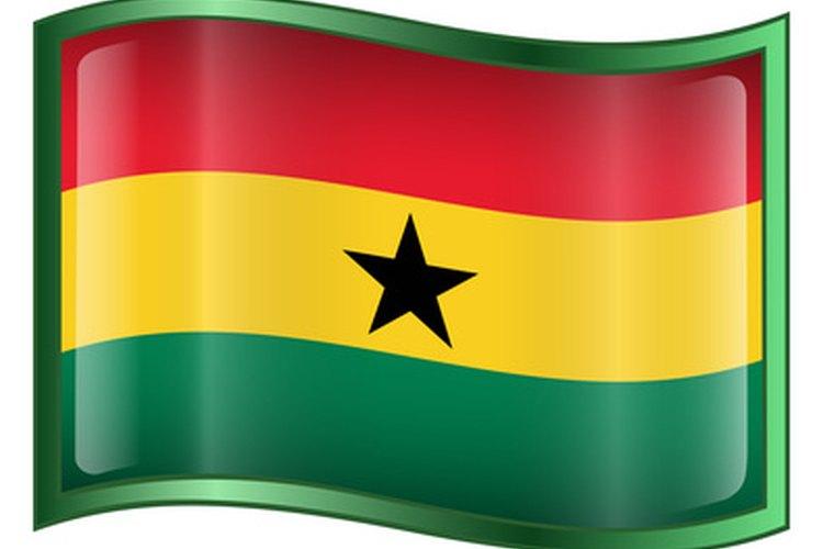 Los niños de Ghana suelen crecer jugando juegos simples como Ampe.