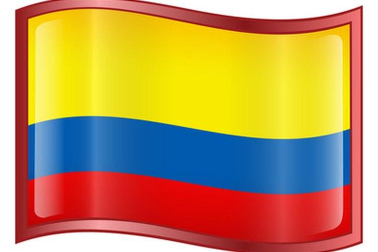 Bandera colombiana.