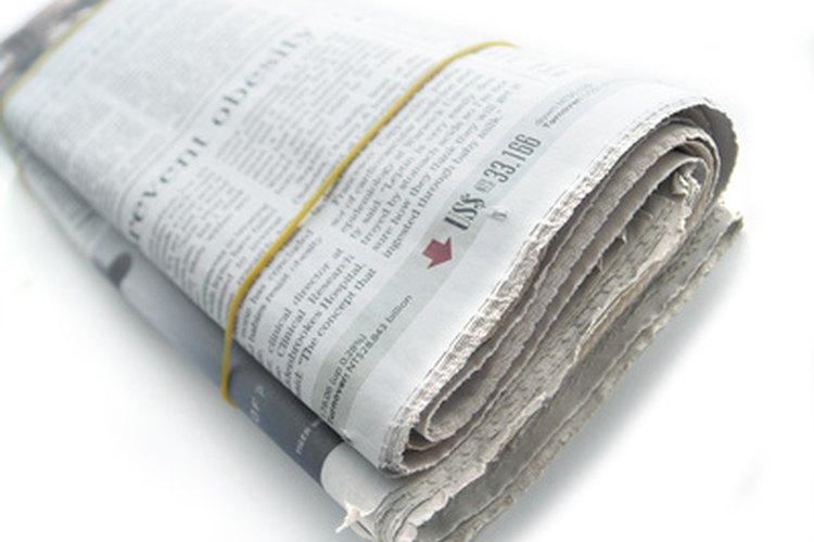 Suscríbete a un periódico nacional y mantente informado de los negocios sociales.