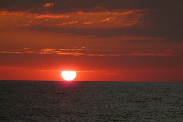 El sol nunca cae directamente sobre las zonas templadas.