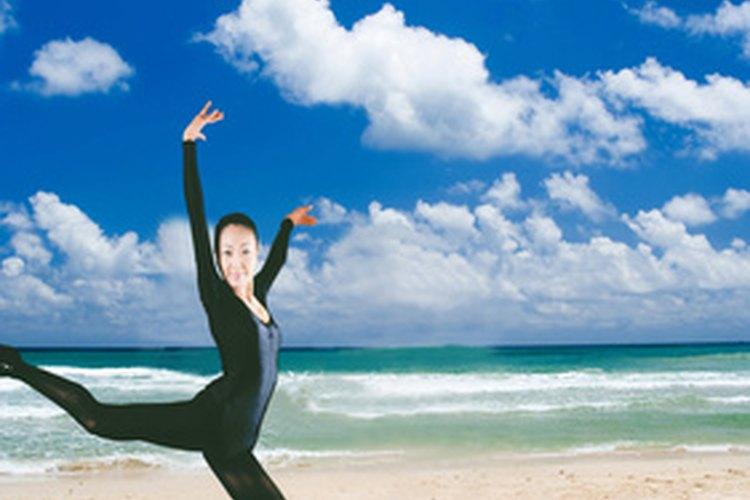 Los saltos de Ballet requieren mucha fuerza.