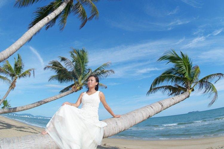 Florida te ofrece lugares únicos para una fotografía de boda.