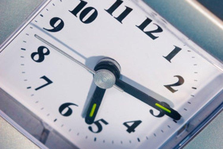 Usa una alarma para ayudar a tu perro a reconocer cuándo es hora de despertar.