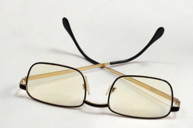 El tinte puede ser quitado en algunos tipos de lentes.
