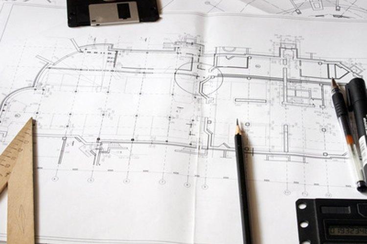 Las dimensiones básicas se utilizan en el diseño de esquemas de construcción.