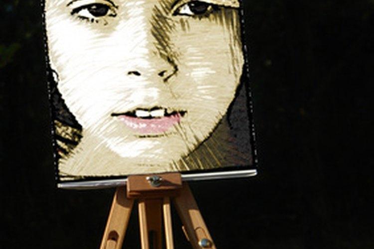 Los artistas del tatuaje pueden crear tatuajes de retrato a partir de pinturas y fotos.