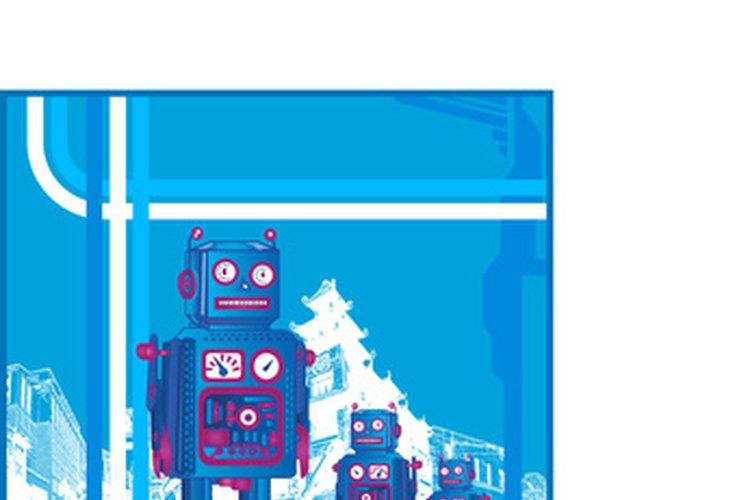 Construir un robot que pueda resolver el cubo Rubik es un buen experimento para los estudiantes avanzados.