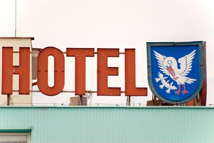 Los hoteles proporcionan toallas limpias.