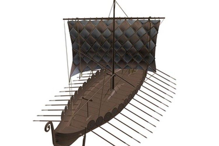 Técnicas para construir barcos vikingos.