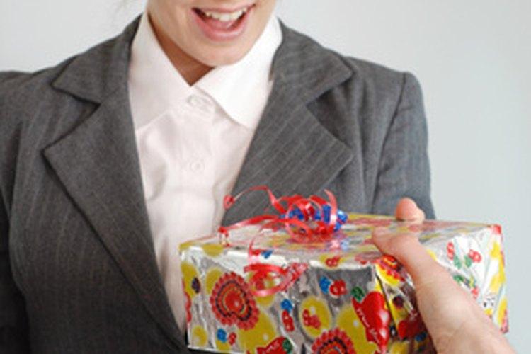 Agradece a tu gerente con un regalo.