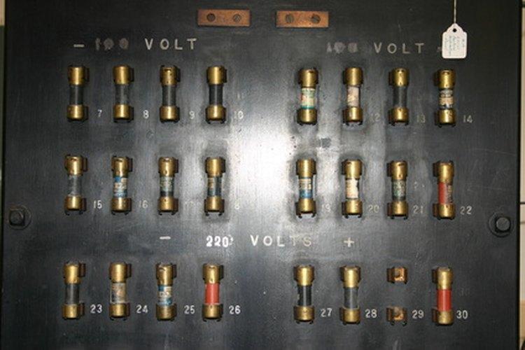 Los fusibles se encuentran principalmente en casas con sistemas antiguos de cableado.