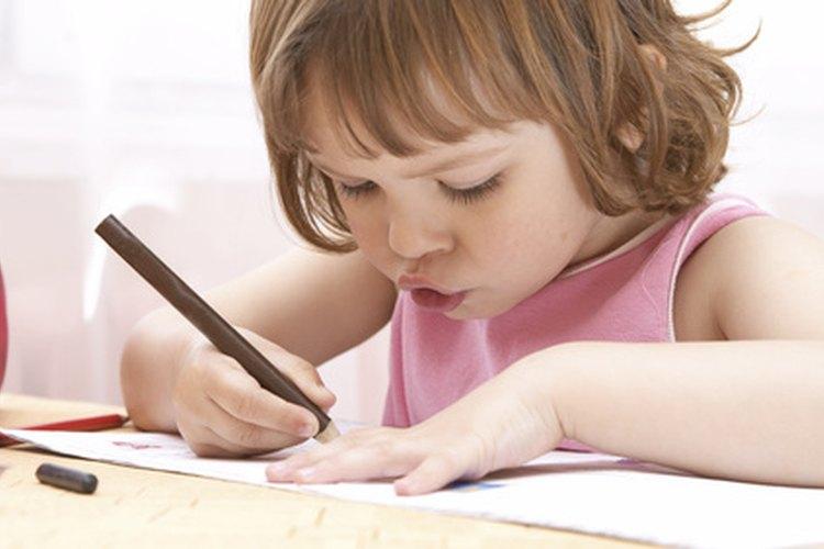 Los años de preescolar ofrecen un desarrollo y aprendizaje rápido.