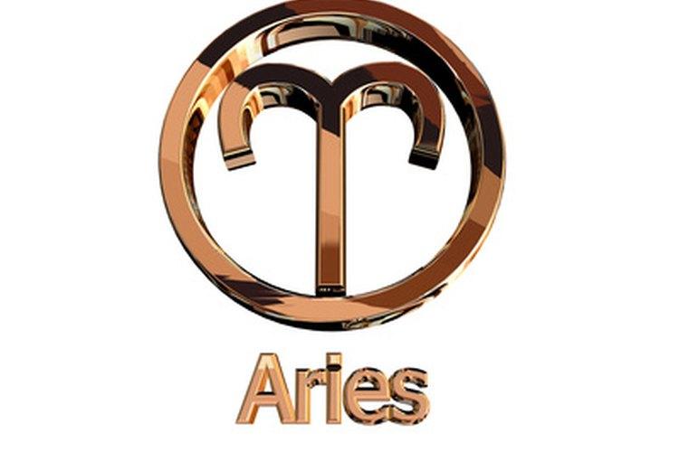 El signo Aries está representado por un carnero.