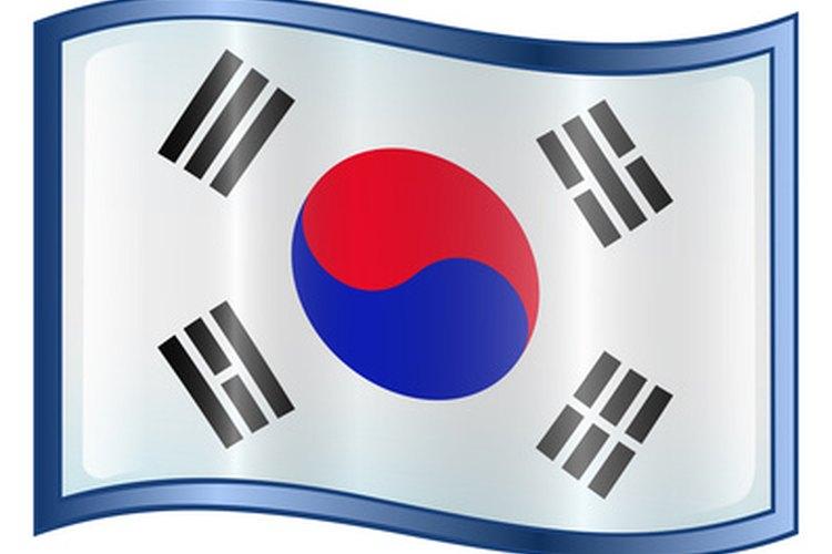 La bandera coreana es llamada Taegeukgi.