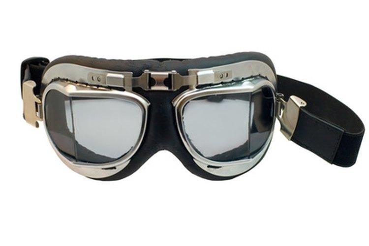 Gafas de protección.