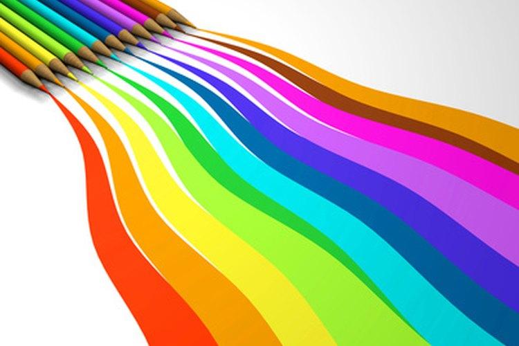 Unos cuantos lapices de colores es lo que necesitas para alegrar el aula.