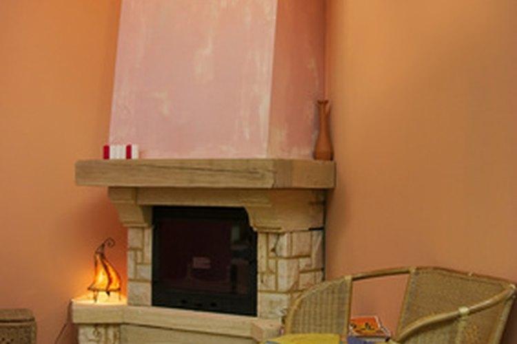 Ideas de dise o para una chimenea de esquina - Como se hace una chimenea ...