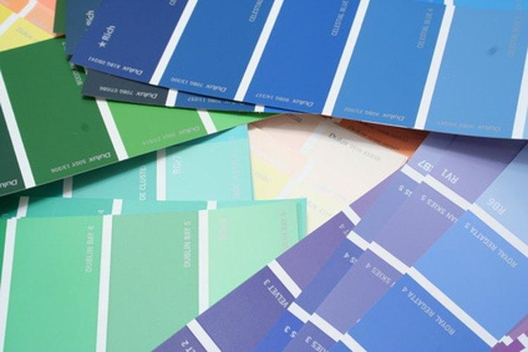 El color es un factor a tener en cuenta a la hora de elegir la pintura.